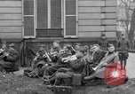 Image of army nurses and soldiers France, 1918, second 48 stock footage video 65675050990