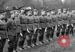 Image of army nurses and soldiers France, 1918, second 49 stock footage video 65675050990