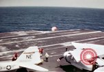 Image of USS Ranger South China Sea, 1970, second 17 stock footage video 65675051023