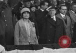 Image of President and Mrs. Calvin Coolidge at baseball game Washington DC USA, 1927, second 1 stock footage video 65675051047