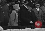 Image of President and Mrs. Calvin Coolidge at baseball game Washington DC USA, 1927, second 6 stock footage video 65675051047