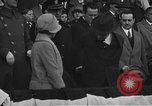 Image of President and Mrs. Calvin Coolidge at baseball game Washington DC USA, 1927, second 8 stock footage video 65675051047