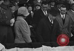 Image of President and Mrs. Calvin Coolidge at baseball game Washington DC USA, 1927, second 9 stock footage video 65675051047