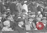 Image of President and Mrs. Calvin Coolidge at baseball game Washington DC USA, 1927, second 12 stock footage video 65675051047