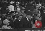 Image of President and Mrs. Calvin Coolidge at baseball game Washington DC USA, 1927, second 13 stock footage video 65675051047