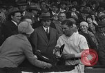 Image of President and Mrs. Calvin Coolidge at baseball game Washington DC USA, 1927, second 19 stock footage video 65675051047