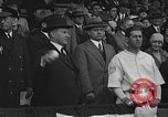 Image of President and Mrs. Calvin Coolidge at baseball game Washington DC USA, 1927, second 32 stock footage video 65675051047