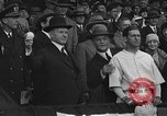 Image of President and Mrs. Calvin Coolidge at baseball game Washington DC USA, 1927, second 34 stock footage video 65675051047