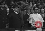Image of President and Mrs. Calvin Coolidge at baseball game Washington DC USA, 1927, second 35 stock footage video 65675051047