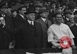 Image of President and Mrs. Calvin Coolidge at baseball game Washington DC USA, 1927, second 43 stock footage video 65675051047
