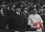 Image of President and Mrs. Calvin Coolidge at baseball game Washington DC USA, 1927, second 44 stock footage video 65675051047