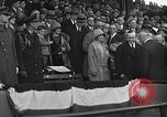 Image of President and Mrs. Calvin Coolidge at baseball game Washington DC USA, 1927, second 47 stock footage video 65675051047
