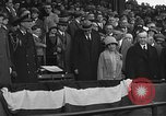 Image of President and Mrs. Calvin Coolidge at baseball game Washington DC USA, 1927, second 50 stock footage video 65675051047