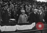 Image of President and Mrs. Calvin Coolidge at baseball game Washington DC USA, 1927, second 51 stock footage video 65675051047