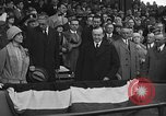 Image of President and Mrs. Calvin Coolidge at baseball game Washington DC USA, 1927, second 54 stock footage video 65675051047