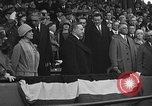 Image of President and Mrs. Calvin Coolidge at baseball game Washington DC USA, 1927, second 55 stock footage video 65675051047