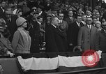 Image of President and Mrs. Calvin Coolidge at baseball game Washington DC USA, 1927, second 56 stock footage video 65675051047