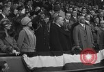 Image of President and Mrs. Calvin Coolidge at baseball game Washington DC USA, 1927, second 58 stock footage video 65675051047