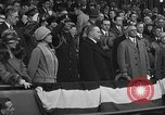 Image of President and Mrs. Calvin Coolidge at baseball game Washington DC USA, 1927, second 59 stock footage video 65675051047