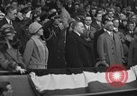 Image of President and Mrs. Calvin Coolidge at baseball game Washington DC USA, 1927, second 60 stock footage video 65675051047