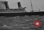 Image of Air power eclipsing Ocean liners for speedy travel Atlantic Ocean, 1925, second 26 stock footage video 65675051055