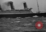Image of Air power eclipsing Ocean liners for speedy travel Atlantic Ocean, 1925, second 27 stock footage video 65675051055