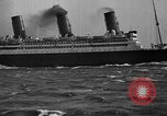 Image of Air power eclipsing Ocean liners for speedy travel Atlantic Ocean, 1925, second 28 stock footage video 65675051055