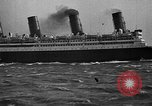 Image of Air power eclipsing Ocean liners for speedy travel Atlantic Ocean, 1925, second 29 stock footage video 65675051055
