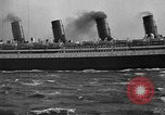 Image of Air power eclipsing Ocean liners for speedy travel Atlantic Ocean, 1925, second 30 stock footage video 65675051055