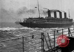 Image of Air power eclipsing Ocean liners for speedy travel Atlantic Ocean, 1925, second 32 stock footage video 65675051055