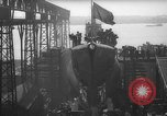 Image of USS Sealion launching ceremony SS-195 Groton Connecticut USA, 1939, second 24 stock footage video 65675051087