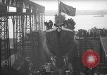 Image of USS Sealion launching ceremony SS-195 Groton Connecticut USA, 1939, second 26 stock footage video 65675051087