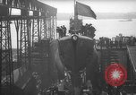 Image of USS Sealion launching ceremony SS-195 Groton Connecticut USA, 1939, second 27 stock footage video 65675051087