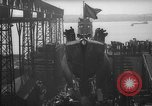 Image of USS Sealion launching ceremony SS-195 Groton Connecticut USA, 1939, second 29 stock footage video 65675051087