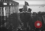 Image of USS Sealion launching ceremony SS-195 Groton Connecticut USA, 1939, second 30 stock footage video 65675051087