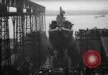 Image of USS Sealion launching ceremony SS-195 Groton Connecticut USA, 1939, second 35 stock footage video 65675051087