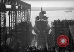 Image of USS Sealion launching ceremony SS-195 Groton Connecticut USA, 1939, second 40 stock footage video 65675051087