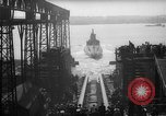 Image of USS Sealion launching ceremony SS-195 Groton Connecticut USA, 1939, second 51 stock footage video 65675051087