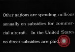 Image of early aircraft Europe, 1924, second 1 stock footage video 65675051095