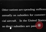 Image of early aircraft Europe, 1924, second 9 stock footage video 65675051095
