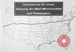 Image of animated map United States USA, 1924, second 7 stock footage video 65675051107