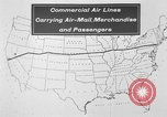 Image of animated map United States USA, 1924, second 9 stock footage video 65675051107