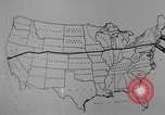 Image of animated map United States USA, 1924, second 17 stock footage video 65675051107
