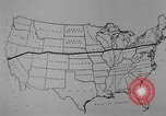 Image of animated map United States USA, 1924, second 18 stock footage video 65675051107