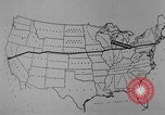 Image of animated map United States USA, 1924, second 19 stock footage video 65675051107