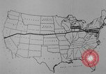 Image of animated map United States USA, 1924, second 25 stock footage video 65675051107