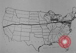 Image of animated map United States USA, 1924, second 26 stock footage video 65675051107
