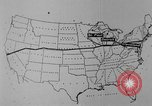 Image of animated map United States USA, 1924, second 29 stock footage video 65675051107