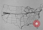 Image of animated map United States USA, 1924, second 56 stock footage video 65675051107