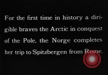 Image of North Pole expedition Spitsbergen Svalbard Norway, 1926, second 32 stock footage video 65675051109